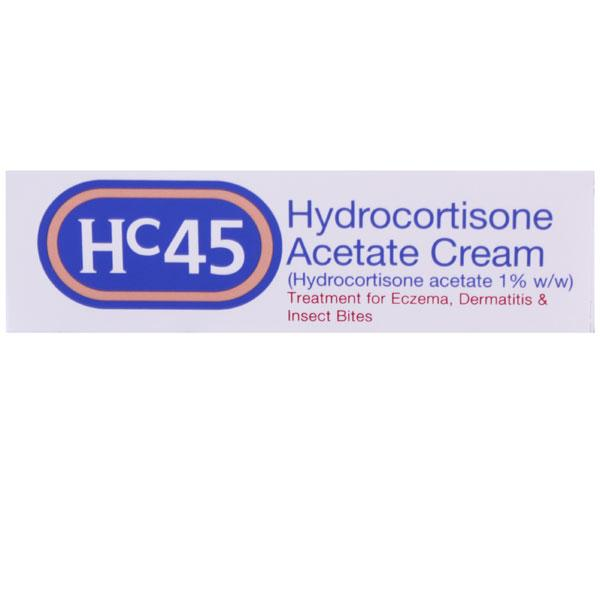 Hc45 Hydrocortisone Acetate Cream
