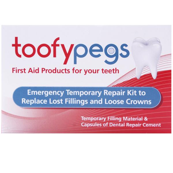 Toofy Pegs Replace Fillings And Loose Crowns
