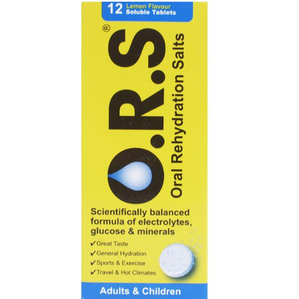 Oral.Rehydration.Salts-Lemon flavour - 12 tablets