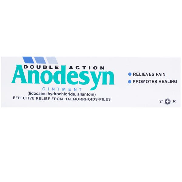 Anodesyn Relief From Haemorrhoids Piles Lignocaine