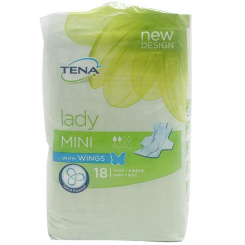 Tena Lady Mini Wings Towels