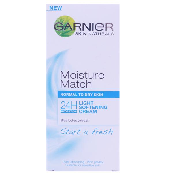 Garnier Moisture Match Light Softening Cream