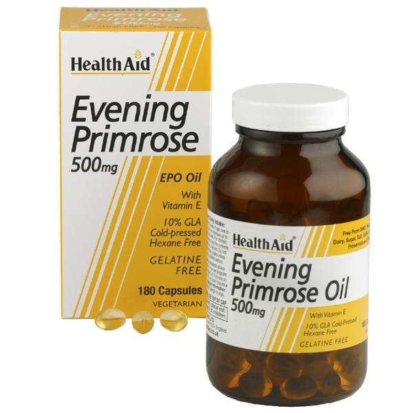 HealthAid Evening Primrose 500mg