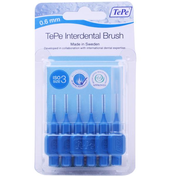 TePe Interdental Brushes 0.6mm