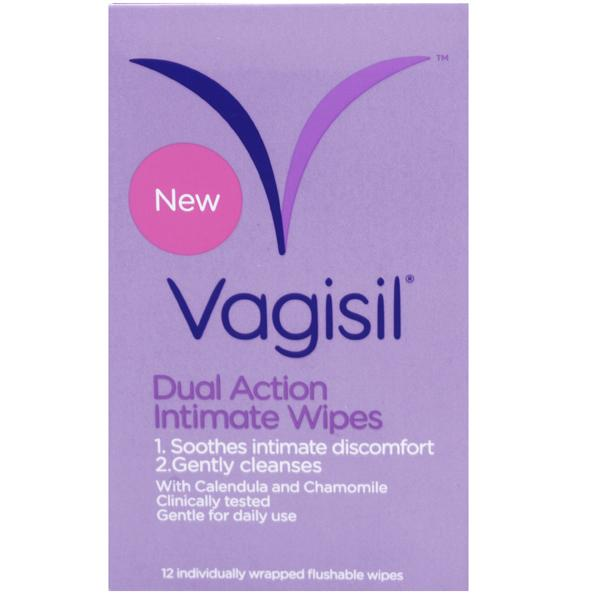 Vagisil Dual Action Intimate Wipes