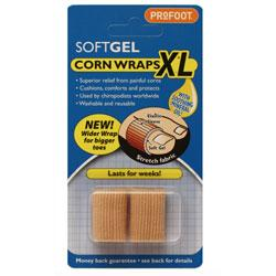 Profoot Soft Gel Corn Wraps XL