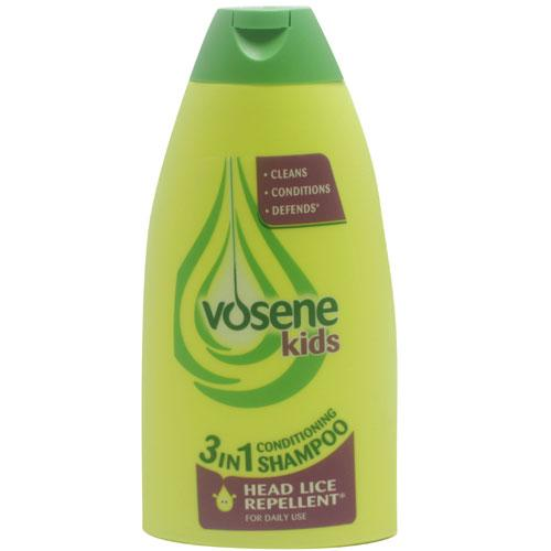 Vosene Kids 3 in 1 Conditioning Shampoo With Head Lice Repellent