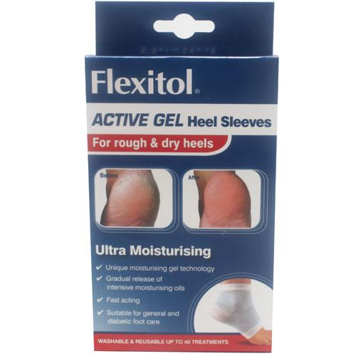 Flexitol Active Gel Heel Sleeves
