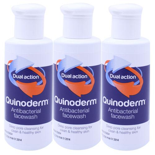 Quinoderm Face Wash Triple Pack