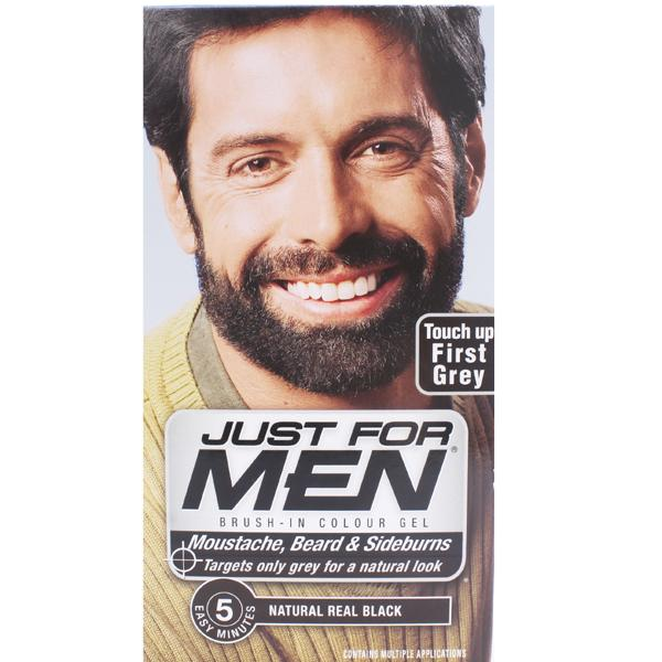 Just For Men M55 Moustache Beard And Sideburns Real Black
