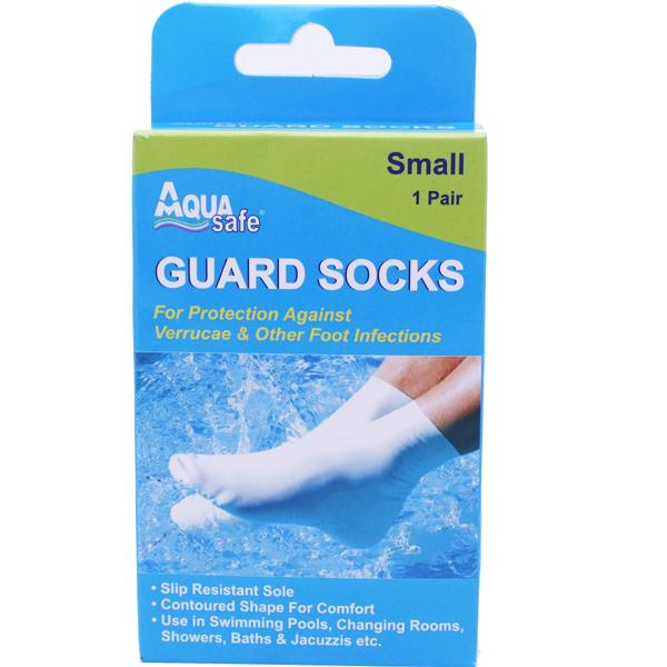 AquaSafe Guard Socks Small