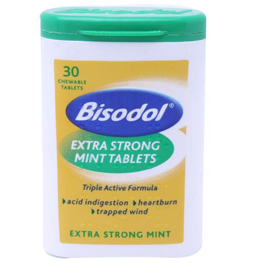 Bisodol Rapid Triple Action Extra Strong Mints