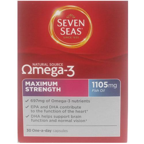 Seven Seas Omega 3 Maximum Strength