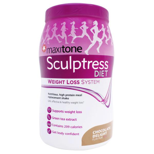 Maxitone Sculptress Diet - Weight Loss System - Chocolate Delight