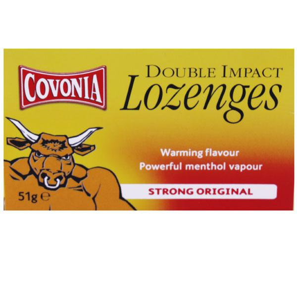 Covonia Strong Original Lozenges