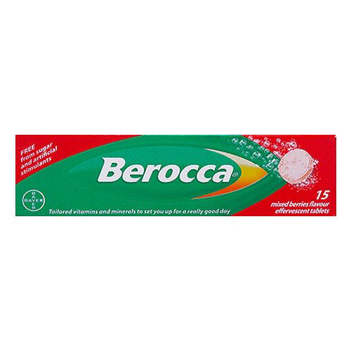 Berocca Mixed Berry Tablets