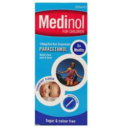 Medinol For Children Strawberry Flavour