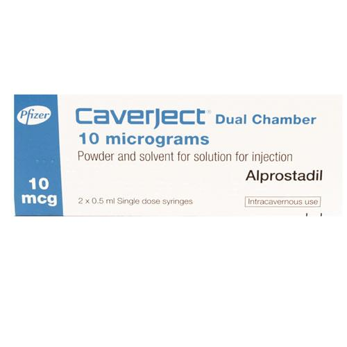 Caverject Dual Chamber 10 mcg/ml (1 injections)