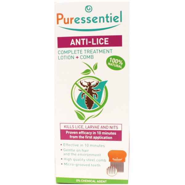 Puressentiel Anti-Lice Complete Treatment Lotion and Comb