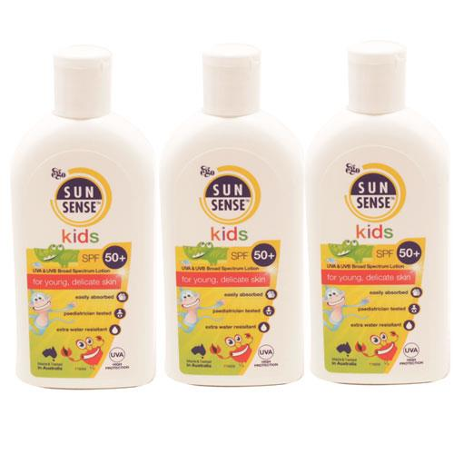 Sunsense Toddler Milk SPF50 Triple Pack