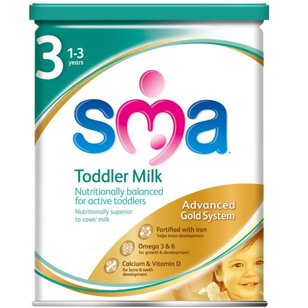 SMA Toddler Milk 3 From 1 Year