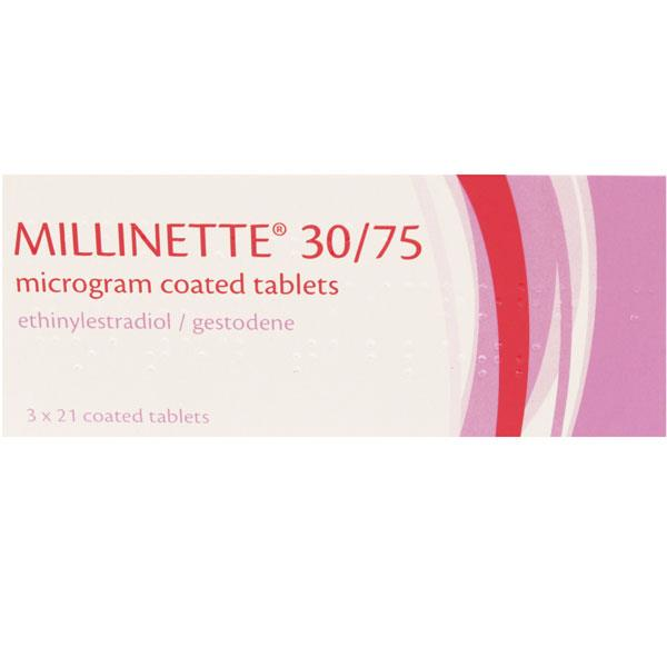Millinette 30/75 Mircogram Coated Tablets