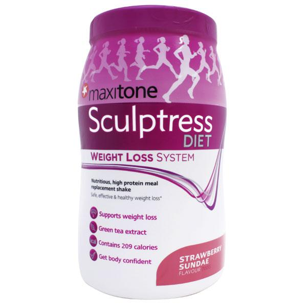 Maxitone Sculptress Diet - Weight Loss System - Strawberry Sundae