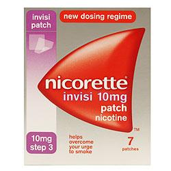 Nicorette Invisi Patch 10mg Step 3