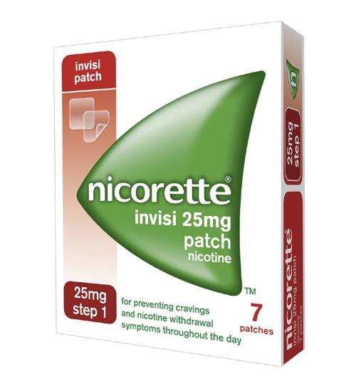 Nicorette Invisi Patch 25mg Step 1